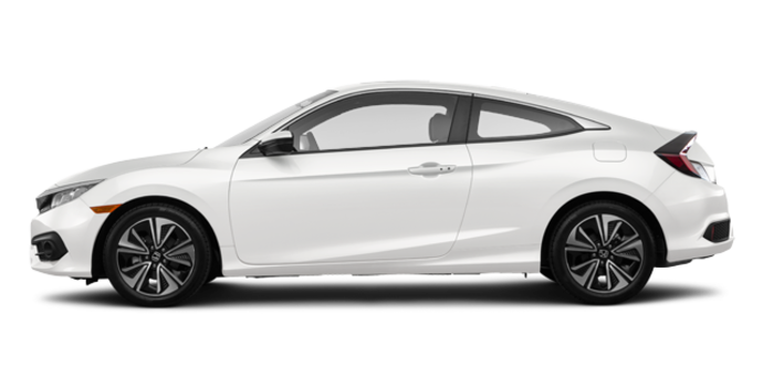 2016 Honda Civic Coupe EX-T | Photo 4 | White Orchid Pearl