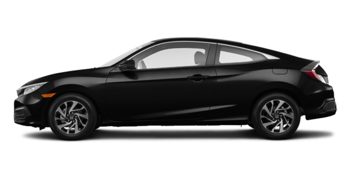 2016 Honda Civic Coupe LX-SENSING | Photo 4 | Crystal Black Pearl