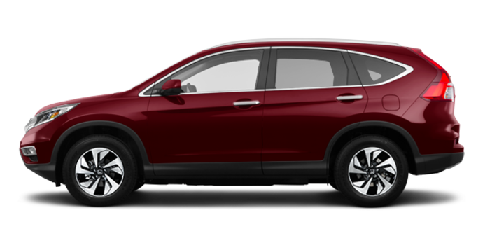 2016 Honda CR-V TOURING | Photo 4 | Basque Red Pearl II