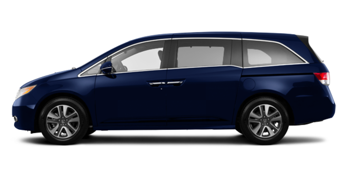 2016 Honda Odyssey TOURING | Photo 4 | Obsidian Blue Pearl