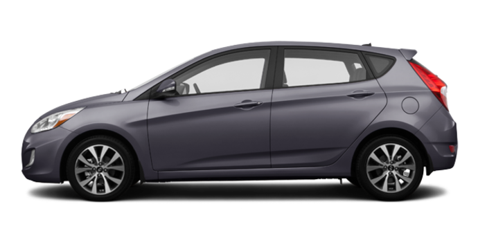 2016 Hyundai Accent 5 Doors GLS | Photo 4 | Triathlon Grey
