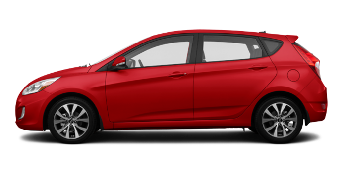2016 Hyundai Accent 5 Doors GLS | Photo 4 | Boston Red