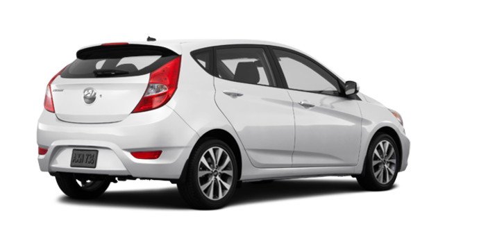 2016 Hyundai Accent 5 Doors GLS | Photo 5 | Century White