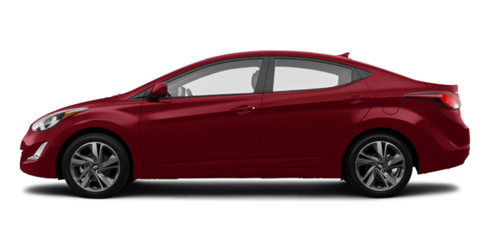 2016 Hyundai Elantra GLS | Photo 4 | Geranium Red