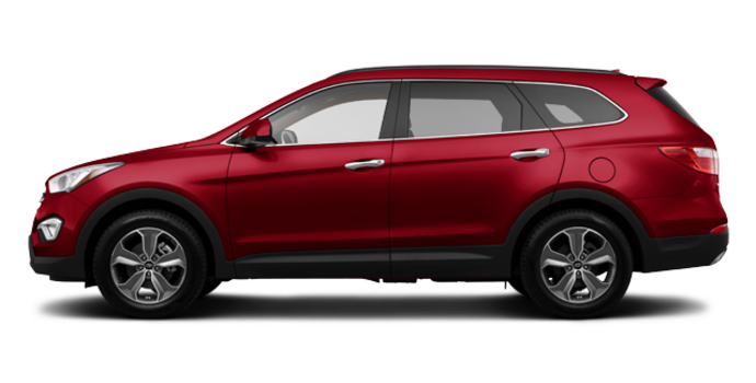 2016 Hyundai Santa Fe XL PREMIUM | Photo 4 | Regal Red Pearl