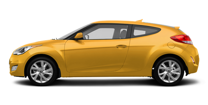 2016 Hyundai Veloster BASE | Photo 4 | Sunflower Yellow