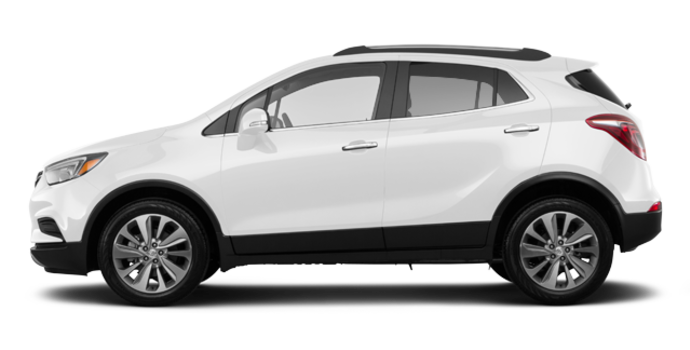 2017 Buick Encore BASE | Photo 4 | Summit White