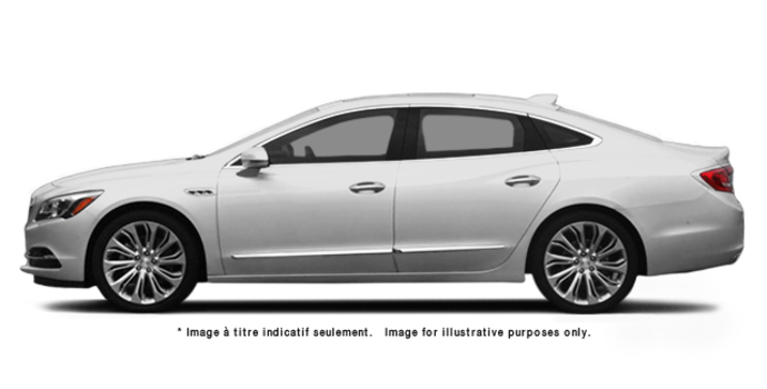 2017 Buick LaCrosse BASE | Photo 4 | Summit White