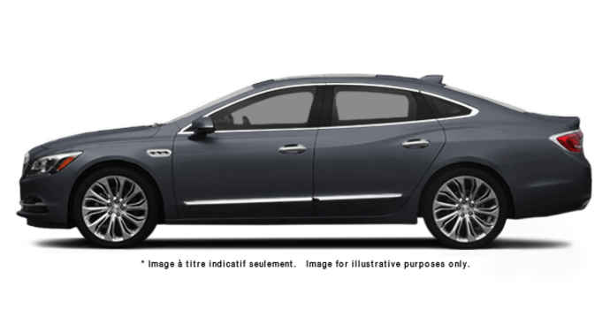 2017 Buick LaCrosse BASE | Photo 4 | Graphite Grey Metallic