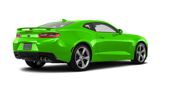 2017 Chevrolet Camaro coupe 1SS | Photo 5 | Krypton Green