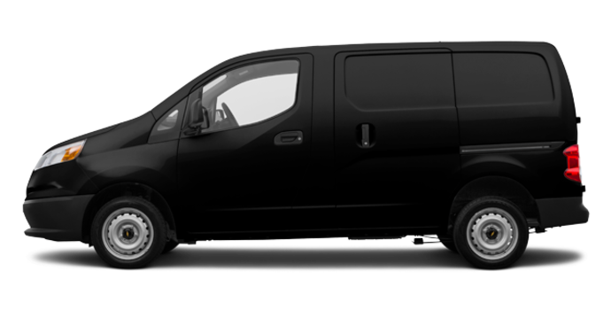 2017 Chevrolet City Express 1LS | Photo 4 | Black Pipe