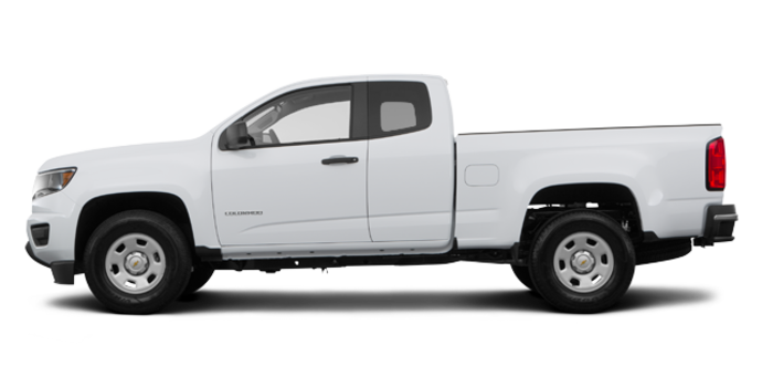 2017 Chevrolet Colorado BASE | Photo 4 | Summit White