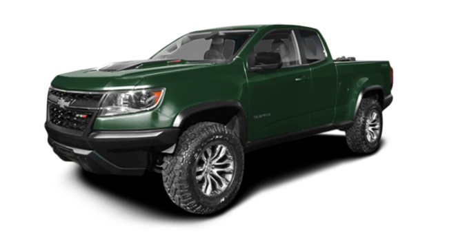 2017 Chevrolet Colorado ZR2 | Photo 6 | Deepwood Green Metallic