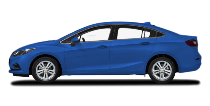 2017 Chevrolet Cruze LT | Photo 4 | Kinetic Blue Metallic