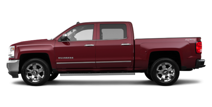 2017 Chevrolet Silverado 1500 LTZ | Photo 4 | Siren Red