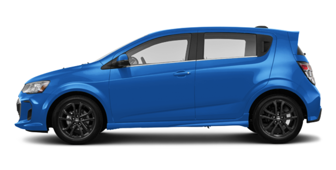 2017 Chevrolet Sonic Hatchback PREMIER | Photo 4 | Kinetic Blue Metallic