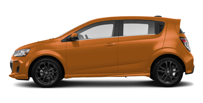 2017 Chevrolet Sonic Hatchback PREMIER | Photo 4 | Orange Burst Metallic