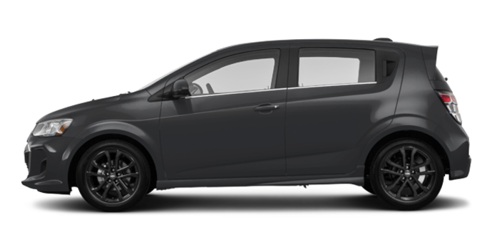2017 Chevrolet Sonic Hatchback PREMIER | Photo 4 | Nightfall Grey Metallic