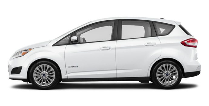 2017 Ford C-MAX HYBRID SE | Photo 4 | White Platinum