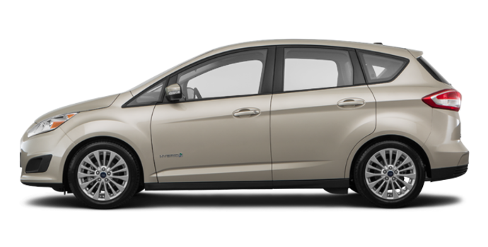 2017 Ford C-MAX HYBRID SE | Photo 4 | White Gold