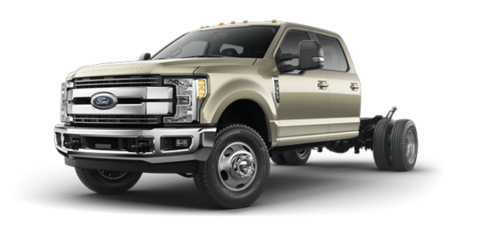2017 Ford Chassis Cab F-350 LARIAT | Photo 4 | White Gold