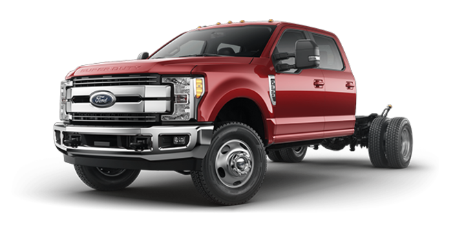 2017 Ford Chassis Cab F-350 LARIAT | Photo 4 | Ruby Red