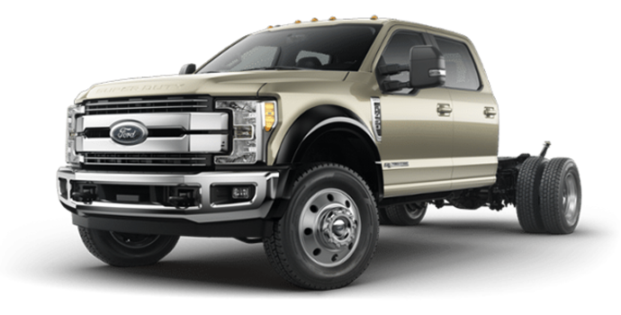 2017 Ford Chassis Cab F-450 LARIAT | Photo 4 | White Gold