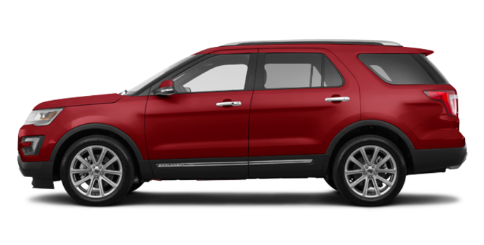 2017 Ford Explorer LIMITED | Photo 4 | Ruby Red