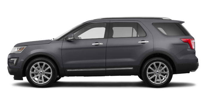 2017 Ford Explorer LIMITED | Photo 4 | Magnetic Grey