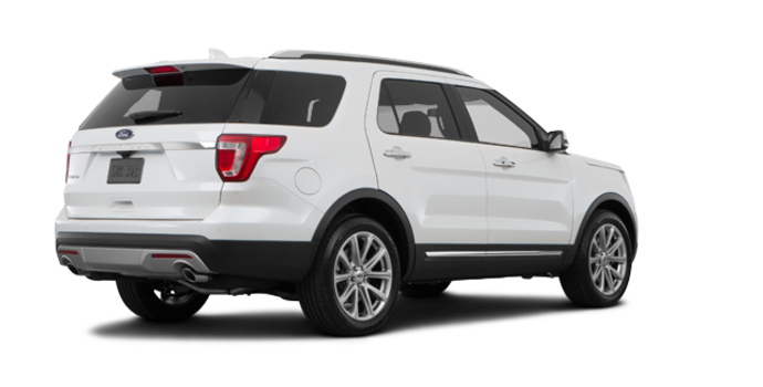 2017 Ford Explorer LIMITED | Photo 5 | White Platinum