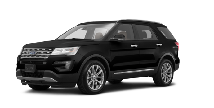 2017 Ford Explorer LIMITED | Photo 6 | Shadow Black