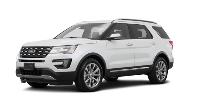 2017 Ford Explorer LIMITED | Photo 6 | White Platinum