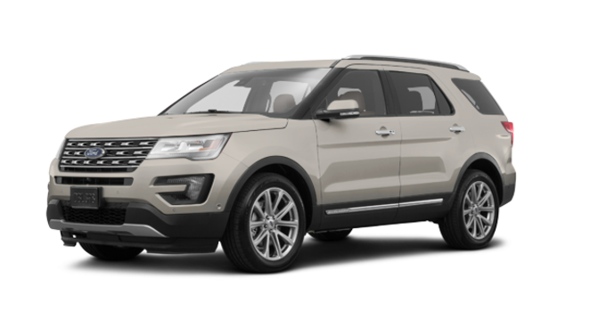 2017 Ford Explorer LIMITED | Photo 6 | White Gold