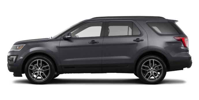 2017 Ford Explorer SPORT | Photo 4 | Smoked Quartz