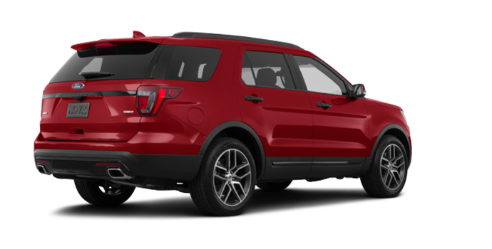 2017 Ford Explorer SPORT | Photo 5 | Ruby Red