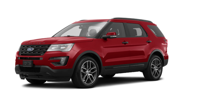 2017 Ford Explorer SPORT | Photo 6 | Ruby Red