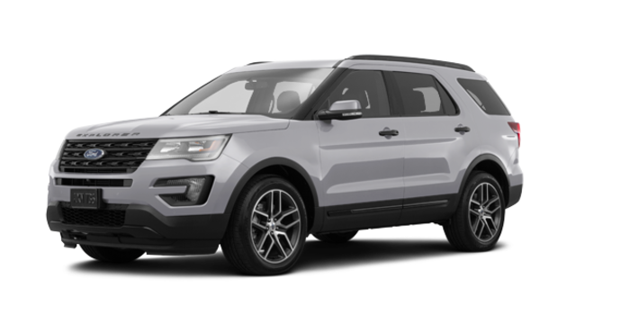 2017 Ford Explorer SPORT | Photo 6 | Ingot Silver
