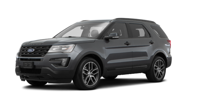 2017 Ford Explorer SPORT | Photo 6 | Magnetic Grey