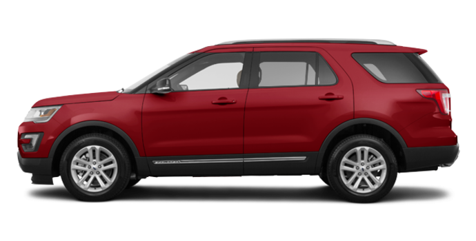 2017 Ford Explorer XLT | Photo 4 | Ruby Red
