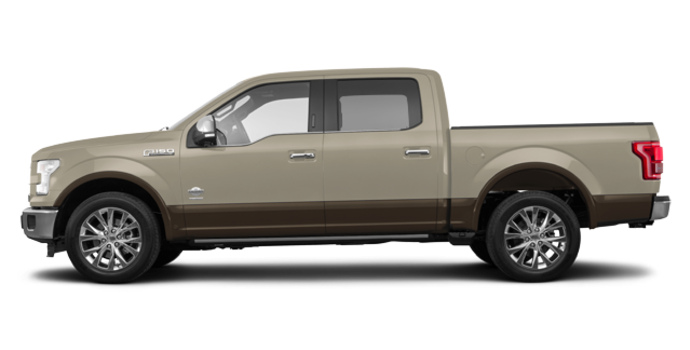 2017 Ford F-150 KING RANCH | Photo 4 | White Gold/Caribou