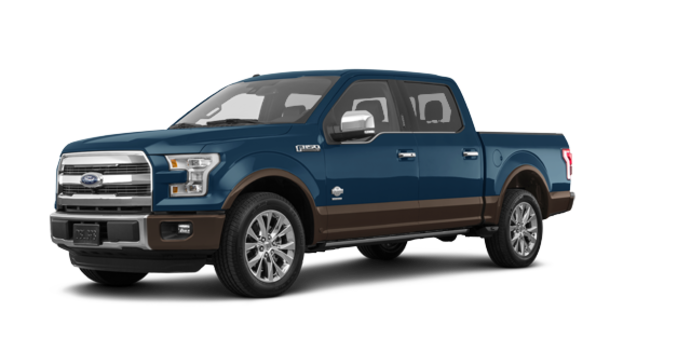 2017 Ford F-150 KING RANCH | Photo 6 | Blue Jeans Metallic/Caribou