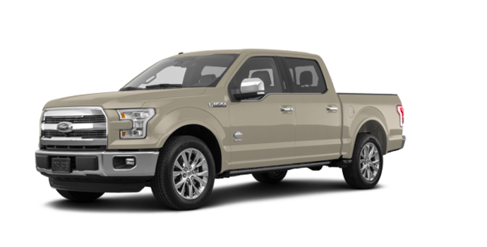 2017 Ford F-150 KING RANCH | Photo 6 | White Gold