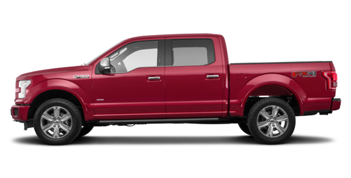 2017 Ford F-150 PLATINUM | Photo 4 | Ruby Red Metallic