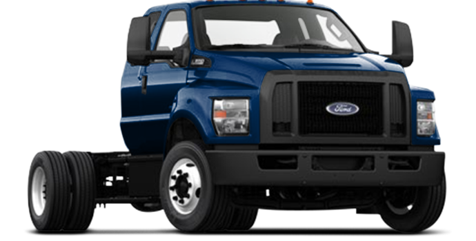 2017 Ford F-650 SD Diesel Pro Loader | Photo 4 | Blue Jeans Metallic