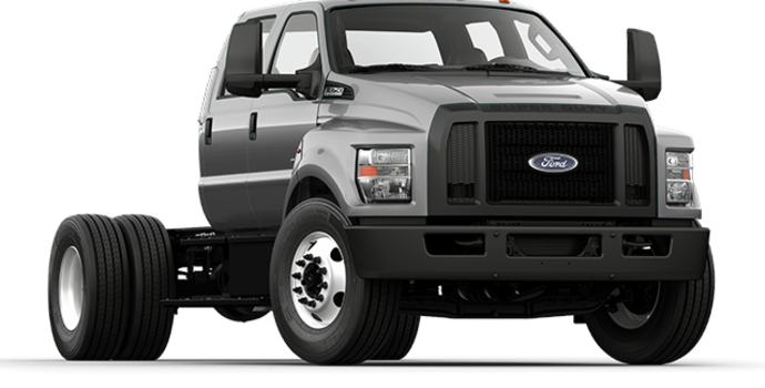 2017 Ford F-750 SD GAS | Photo 4 | Ingot Silver Metallic
