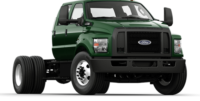 2017 Ford F-750 SD GAS | Photo 4 | Green Gem Metallic