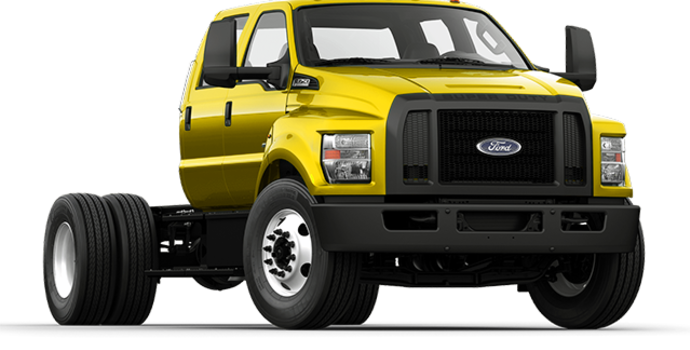 2017 Ford F-750 SD GAS | Photo 4 | Bold Yellow