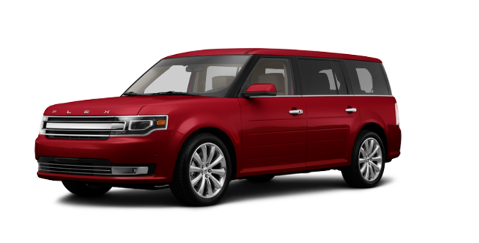 2017 Ford Flex LIMITED | Photo 6 | Ruby Red