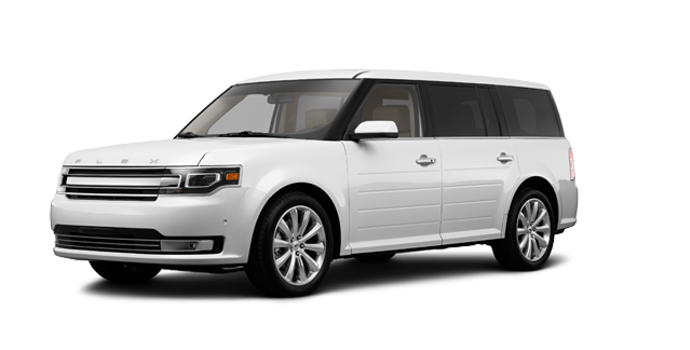 2017 Ford Flex LIMITED | Photo 6 | Oxford White