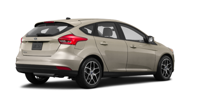 2017 Ford Focus Hatchback SEL | Photo 5 | White Gold
